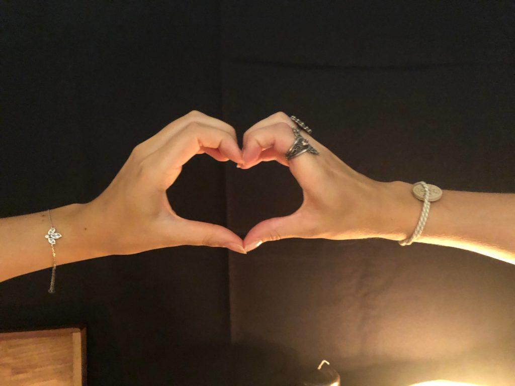 coeur amoureux des ames soeurs